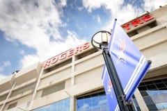 罗杰斯中心在多伦多 免版税库存照片