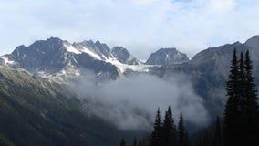 罗杰斯通行证, alt。1330 m.英国哥伦比亚,加拿大 免版税库存图片