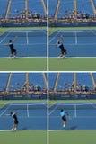 罗杰Federer 免版税库存照片