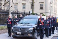 罗柏特・福特葬礼场面,多伦多,加拿大 免版税图库摄影