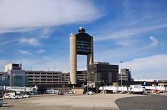 罗根国际机场在波士顿 图库摄影