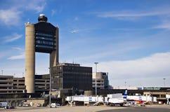罗根国际机场,波士顿 免版税库存图片