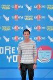 罗根・勒曼Al Giffoni电影节2013年 免版税库存照片