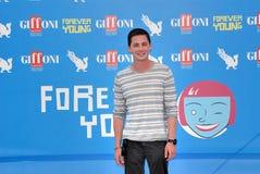 罗根・勒曼Al Giffoni电影节2013年 免版税库存图片