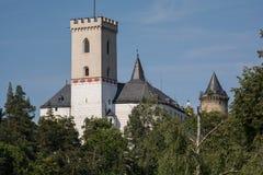 罗森贝里城堡-捷克 免版税库存图片