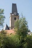 罗森贝里-圣玛丽的教会-捷克 库存照片