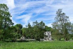 罗氏修道院看法,从罗氏森林 库存照片