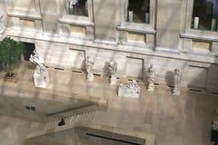 罗浮宫的内部细节,巴黎,法国 免版税图库摄影