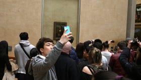 罗浮宫的内部细节,巴黎,法国 库存照片