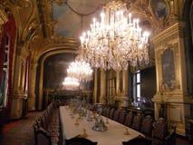 罗浮宫,巴黎,其中一个最惊人的地方在世界上 库存图片