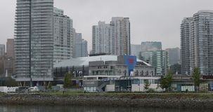 罗渣士体育馆在温哥华,加拿大4K 股票视频