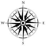 罗盘风 也corel凹道例证向量 地理 皇族释放例证