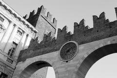 维罗纳墙壁 免版税库存照片