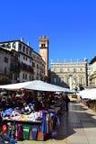 维罗纳市场 库存图片