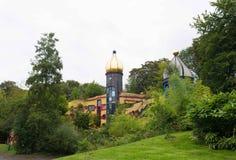 罗纳德麦克唐纳房子在埃森,德国 库存照片