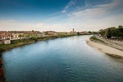 维罗纳意大利-维罗纳,威尼托都市风景  库存图片