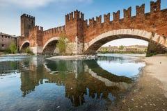 维罗纳意大利-维罗纳,威尼托都市风景  图库摄影