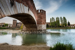 维罗纳意大利-维罗纳,威尼托都市风景  免版税图库摄影
