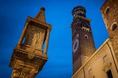 维罗纳意大利-维罗纳,威尼托都市风景  免版税库存图片