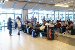 维罗纳机场内部 免版税库存图片
