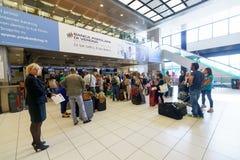 维罗纳机场内部 免版税图库摄影
