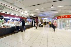 维罗纳机场内部 库存图片