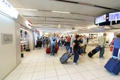 维罗纳机场内部 免版税库存照片