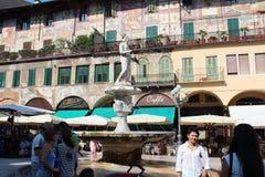 维罗纳,意大利城市视图  免版税库存照片