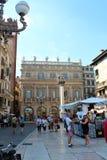 维罗纳,意大利城市视图  免版税图库摄影