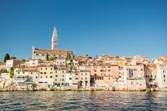 罗维尼, Istria,克罗地亚 免版税库存照片