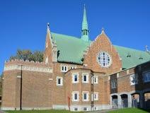 罗耀拉教堂协和大学 免版税库存图片
