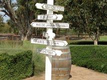 巴罗莎山谷地区,南澳大利亚 免版税图库摄影