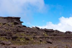 罗赖马山 库存图片