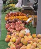 罗阿诺克农夫市场 免版税库存图片