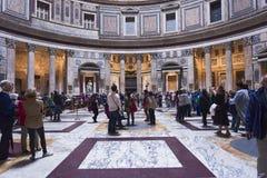 罗马万神殿 库存照片
