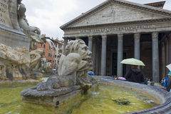 罗马万神殿 免版税库存照片