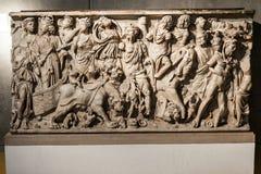 罗马严重利昂法国 免版税库存照片