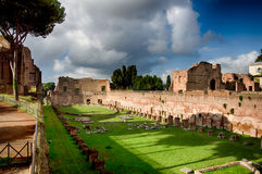 罗马体育场 免版税库存照片