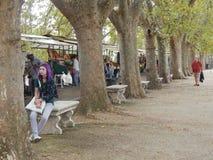 罗马公园 免版税库存照片