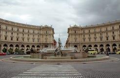 罗马共和国正方形 图库摄影