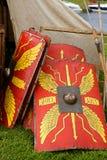 罗马军团盾  免版税图库摄影