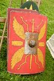 罗马军团盾  图库摄影