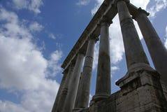 罗马列的论坛 免版税库存照片