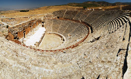 Hierapolis圆形剧场 免版税库存图片