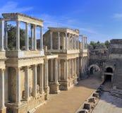 罗马剧院,梅里达,埃斯特雷马杜拉,西班牙 免版税库存图片