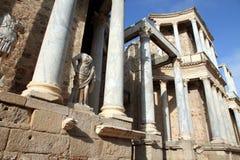 罗马剧院,梅里达,西班牙 库存照片