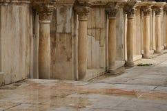 罗马剧院,阿曼 库存图片