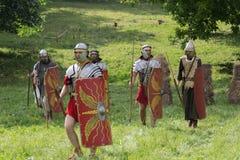 罗马古老军队 库存图片