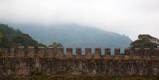 罗马古老堡垒佐治亚的gonio 免版税库存照片