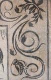罗马古老的马赛克 免版税库存照片